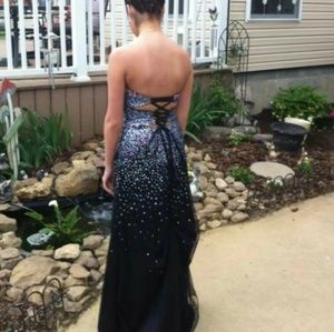 Sequined Prom Formal Dress